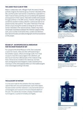 Mark Dion: exhibition guide, page 3