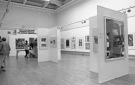 Cleveland International Drawing Biennale, 1992, photo 3 (Phil Polglaze)
