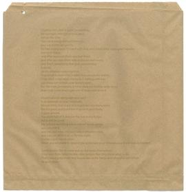Anna Lucas: paper bag 2, back