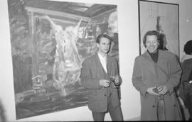 Camberwell Fine Art, exhibition of student work, 1989 photo 24 (Phil Polglaze)