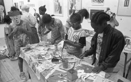 Ateliers: Art from Southwark Studios, children's workshop, 1992, photo 23 (Phil Polglaze)