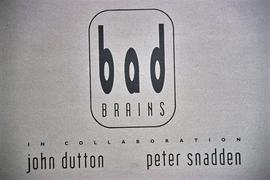 Exhibition: Bad Brains, 1995, slide 1