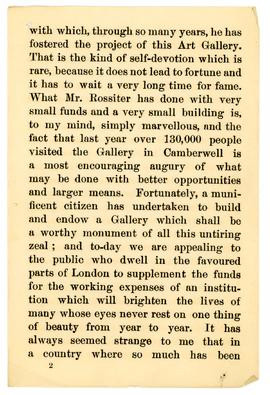 Henry Irving speech, 1890, page 2