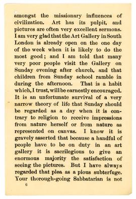 Henry Irving speech, 1890, page 6