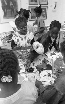 Ateliers: Art from Southwark Studios, children's workshop, 1992, photo 13 (Phil Polglaze)