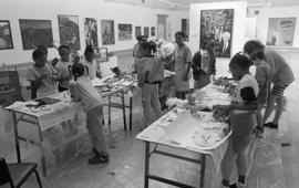 Ateliers: Art from Southwark Studios, children's workshop, 1992, photo 12 (Phil Polglaze)