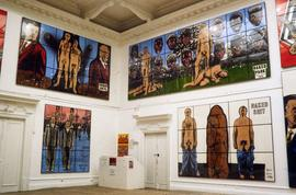 Exhibition: Gilbert & George, 1995, slide 26