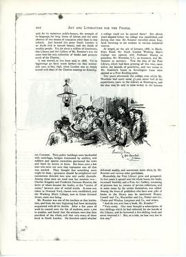 Art and Literature for the People, Interview with Mr WM Rossiter, page 2