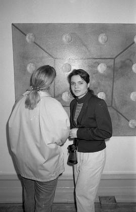 Camberwell Fine Art, exhibition of student work, 1989 photo 20 (Phil Polglaze)