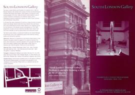 Exhibition programme leaflet, January to May 1998, front
