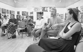 South London Open (event at the gallery), 1987, photo 1 (Phil Polglaze)