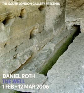 Daniel Roth: leaflet, front cover