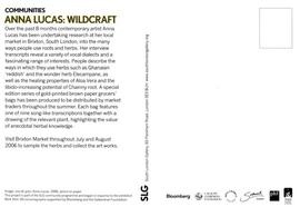 Anna Lucas: Wildcraft postcard