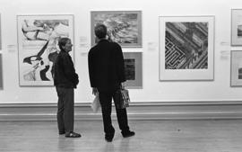 Cleveland International Drawing Biennale, 1992, photo 8 (Phil Polglaze)