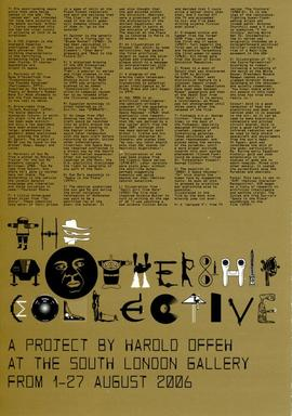 The Mothership Collective: leaflet, front