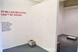 Exhibition: 20 Million Mexicans, 2002, slide 92