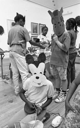 Ateliers: Art from Southwark Studios, children's workshop, 1992, photo 29 (Phil Polglaze)