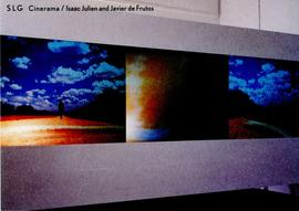 Cinerama / Isaac Julien and Javier Frutos: private view invitation, back