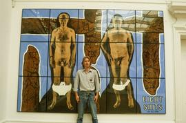 Exhibition: Gilbert & George, 1995, slide 1