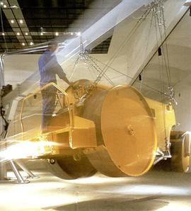 Chris Burden: The Flying Steamroller: flyer, back