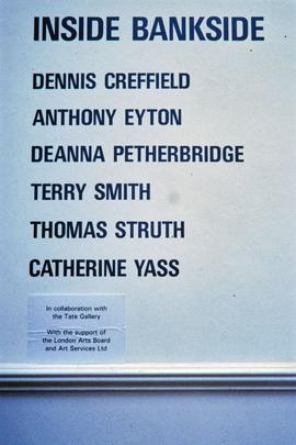 Exhibition: Inside Bankside, 1996, slide 1