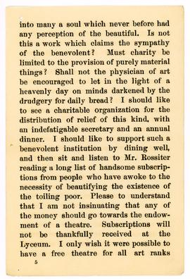 Henry Irving speech, 1890, page 5