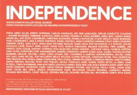 Independence Weekend leaflet