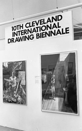Cleveland International Drawing Biennale, 1992, photo 9 (Phil Polglaze)