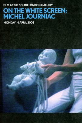 'On the White Screen' flyer, front