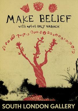 'Make Belief' leaflet, front