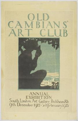 Poster Design for an Old Cambians exhibition