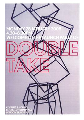 Double Take project leaflet, front cover