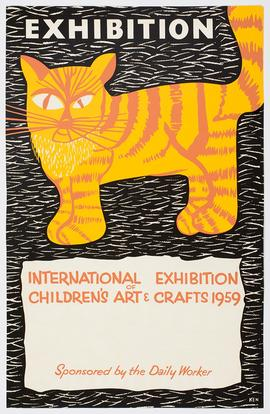 Exhibition of Children's Art and Crafts: Poster