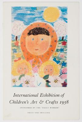 Exhibition of Children's Art and Crafts: Catalogue Cover