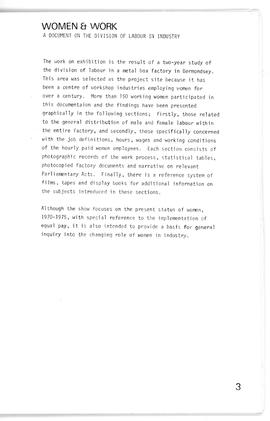 Women & Work: Catalogue, page 3