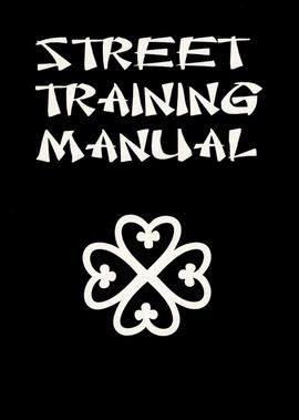 'Street Training Manual', front cover