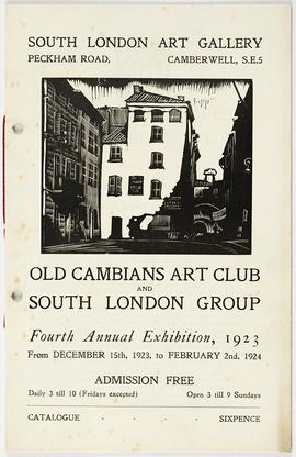 Old Cambians Catalogue (fourth exhibition)