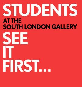 'Students See It First' leaflet (autumn 2009), front cover