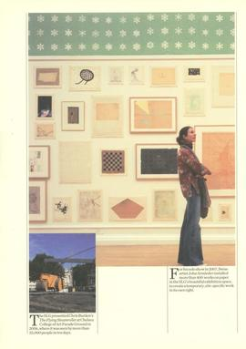 South London Gallery brochure, page 3