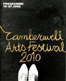Camberwell Arts Festival 2010 guide, front cover