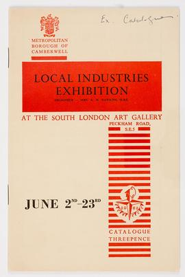 Local Industries Exhibition Catalogue, cover