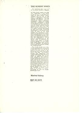 Women & Work: Request for Press Cuttings, 4