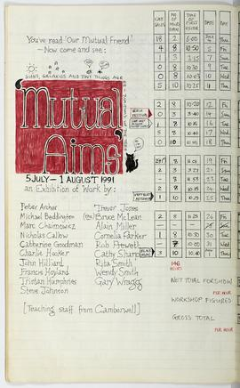 Visitor Attendance Book: Mutual Aims, page 1