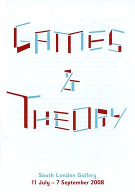 'Games & Theory' leaflet, front cover
