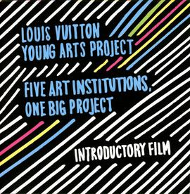 Louis Vuitton Young Arts Project film (DVD) case, front