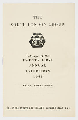 South London Group catalogue, cover